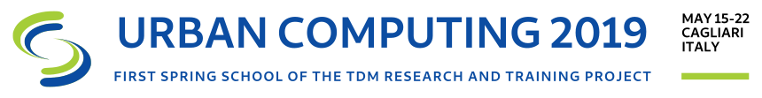 TDM Urban Computing 2019  Logo